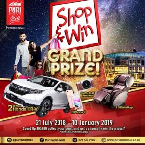 Shop & Win Grand Prize